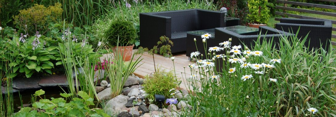 How to Decorate Your Pond's Walkway