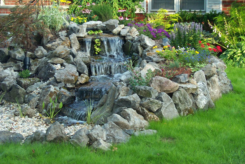 Pondless Waterfall Gallery | Paradise Ponds by Ed Dedicke