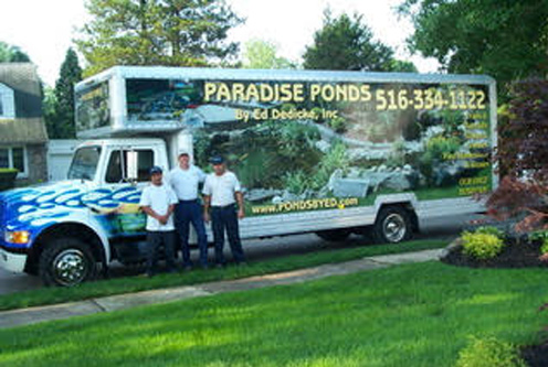 Pond Installation Nassau County | Pond Design Nassau County | Paradise Ponds